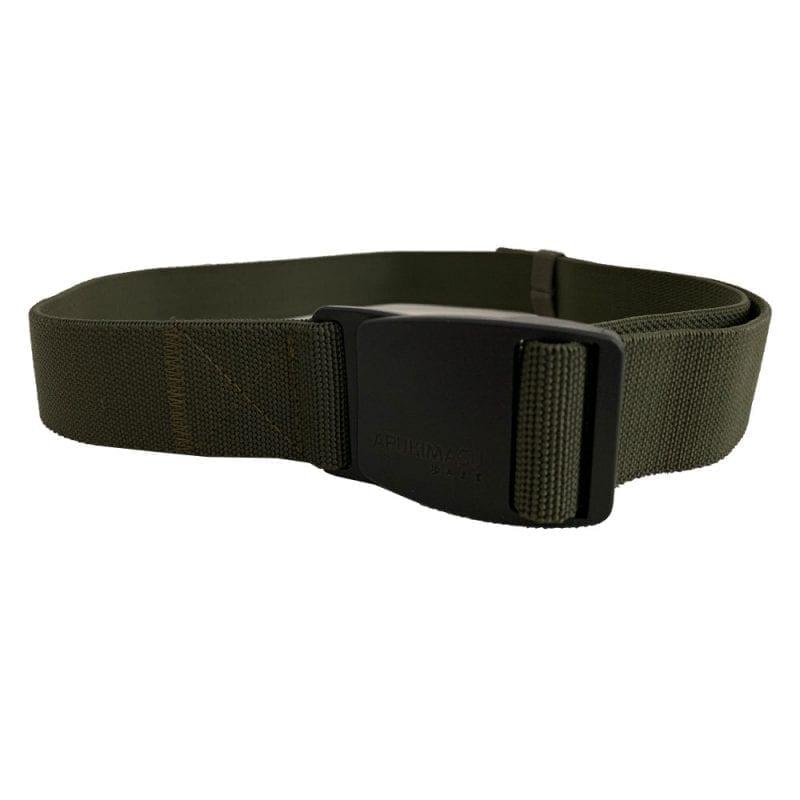 Stretchbälte, Olive Green, Plastspänne, 115cm