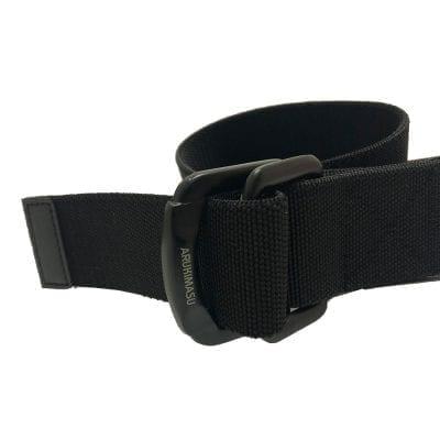Stretchbälte, Black, Metallspänne, 125cm